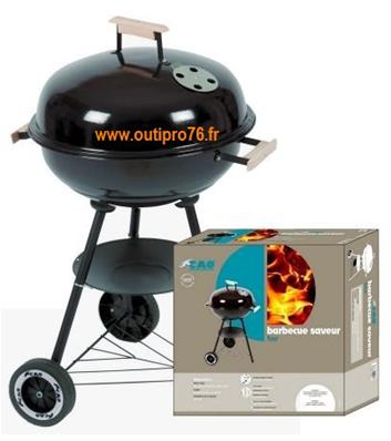 Barbecue rond four saveur